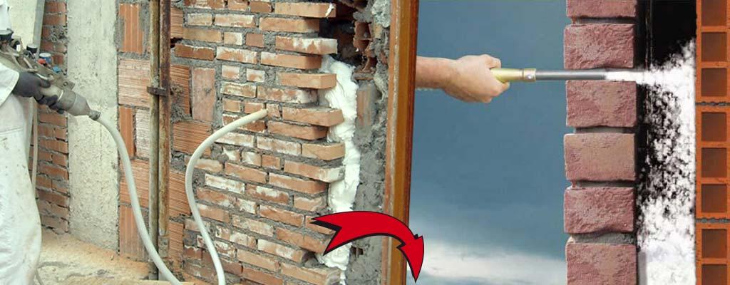 Isolamento muri contro l 39 umidit con schiuma insufflaggio - Contro l umidita in casa ...